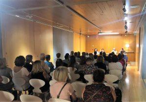 "Presentación de ""Un espíritu en mi sofá"" (Cornellà, septiembre 2019)"